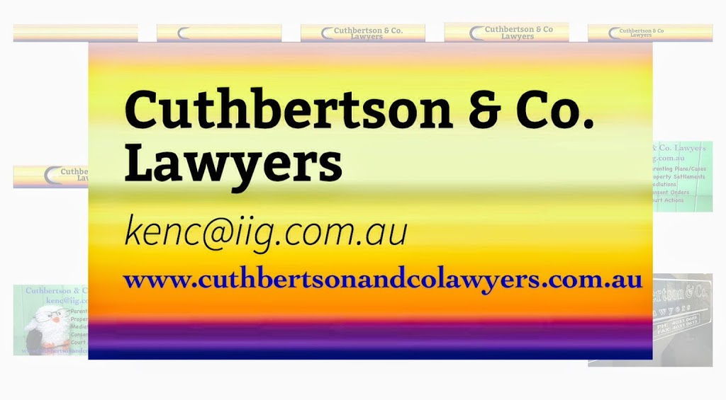 Cuthbertson & Co Lawyers | lawyer | 25/29 Grafton St, Cairns City QLD 4870, Australia | 0740310603 OR +61 7 4031 0603