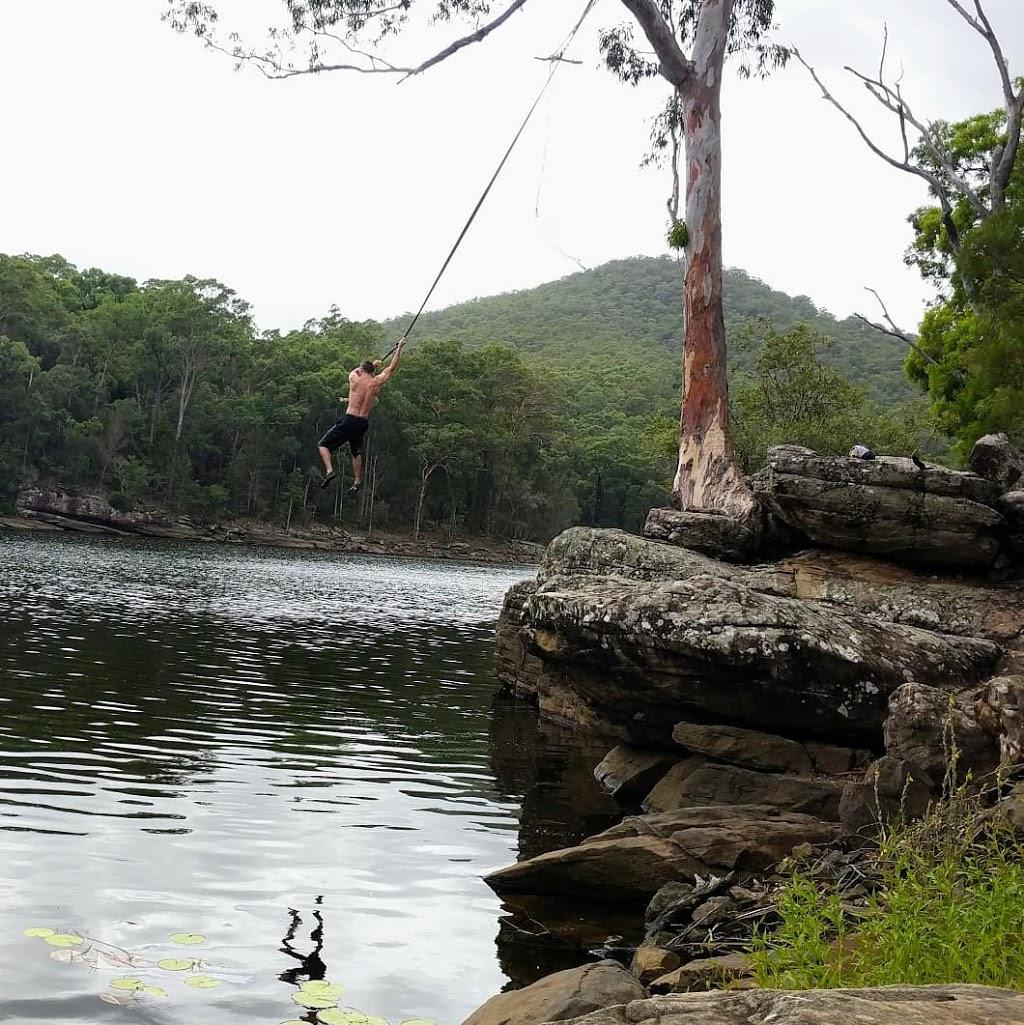 Beehive ropeswing campsite | campground | Moollattoo NSW 2540, Australia