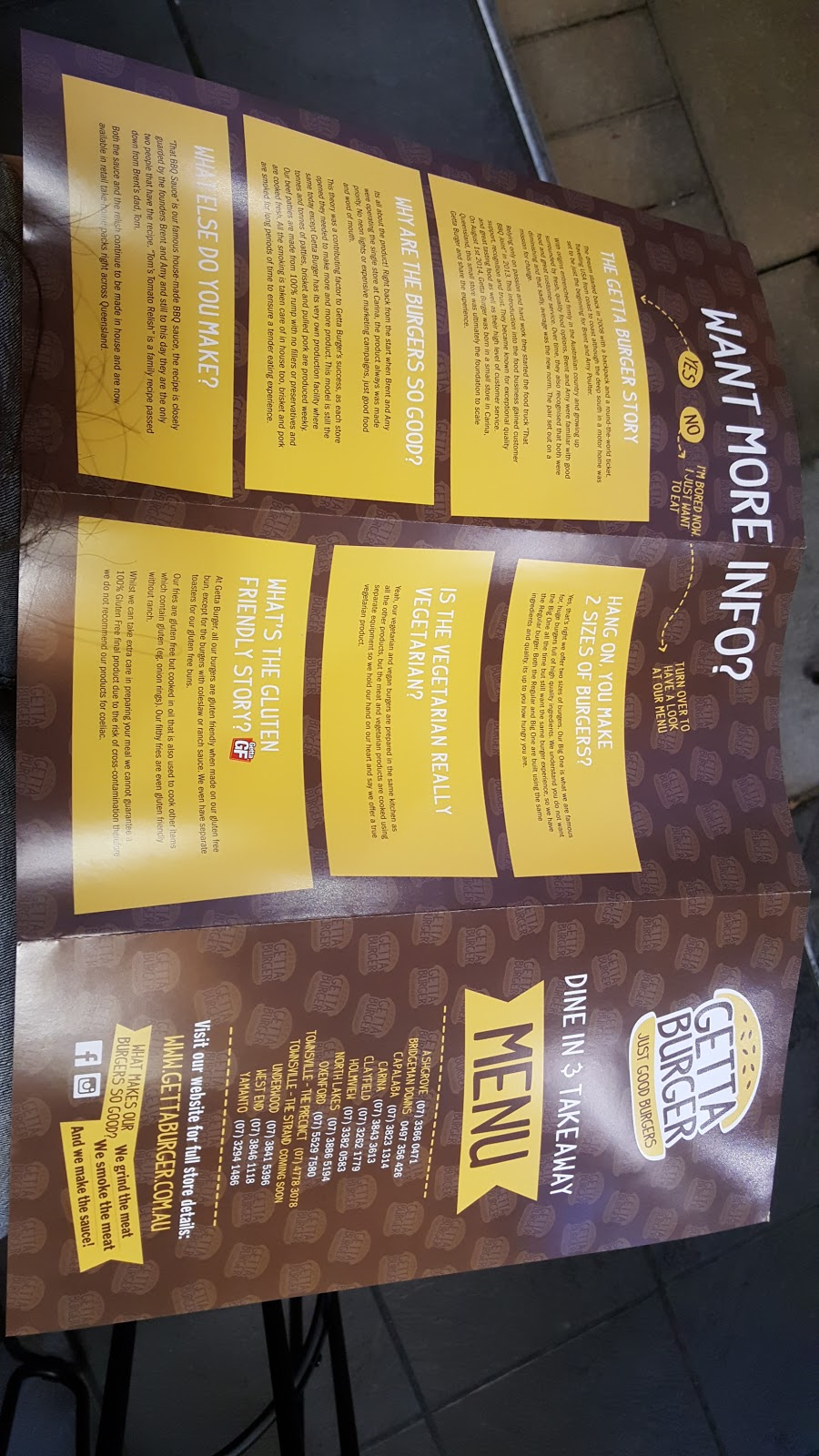 Getta Burger | restaurant | shop 4/58 The Strand, North Ward QLD 4810, Australia | 0747714168 OR +61 7 4771 4168
