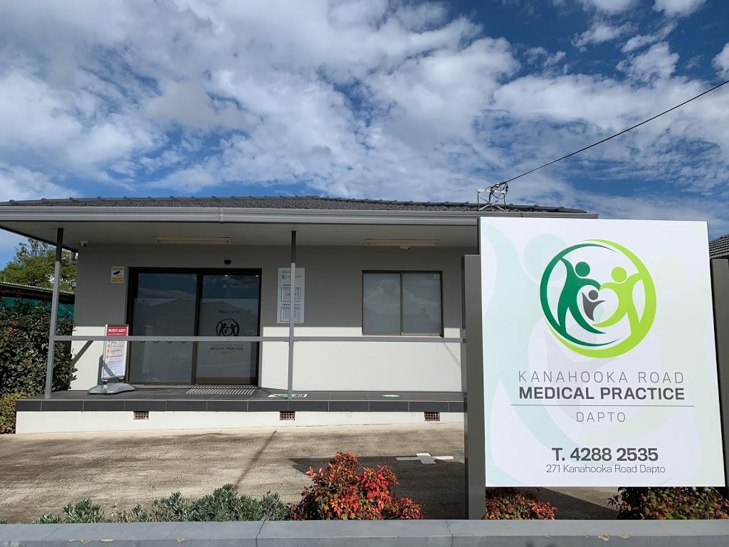 Kanahooka Road Medical Practice   doctor   271 Kanahooka Rd, Dapto NSW 2530, Australia   0242882535 OR +61 2 4288 2535