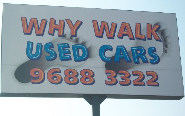 Why Walk Used Cars   car dealer   350 Great Western Hwy, Wentworthville NSW 2145, Australia   0296883322 OR +61 2 9688 3322