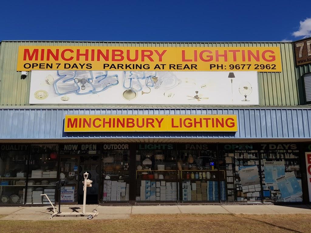 Minchinbury Lighting | home goods store | 2/1 Colyton Rd, Minchinbury NSW 2770, Australia | 0296772962 OR +61 2 9677 2962