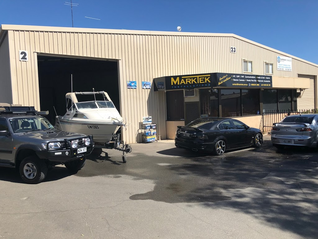Marktek Installations PTY LTD   car repair   2/23 Pentland Rd, Salisbury South SA 5106, Australia   0882502888 OR +61 8 8250 2888