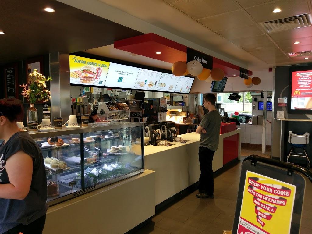 McDonalds Toowoomba | cafe | 277 Margaret St, Toowoomba City QLD 4350, Australia | 0746381115 OR +61 7 4638 1115