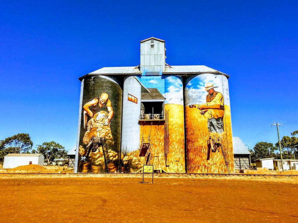 Weethalle Silos | museum | 61 Railway St, Weethalle NSW 2669, Australia