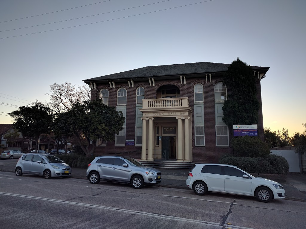 St Peters/Sydenham Library | library | 39 Unwins Bridge Rd, Sydenham NSW 2044, Australia | 0293352184 OR +61 2 9335 2184