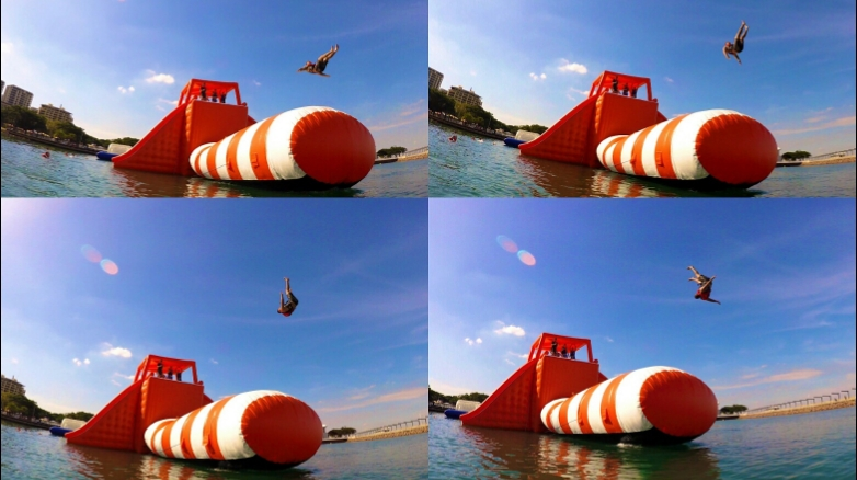 Big Buoy Water Park | amusement park | Darwin Waterfont Precinct Recreational Lagoon, Kitchener Dr, Darwin City NT 0800, Australia | 0421186974 OR +61 421 186 974