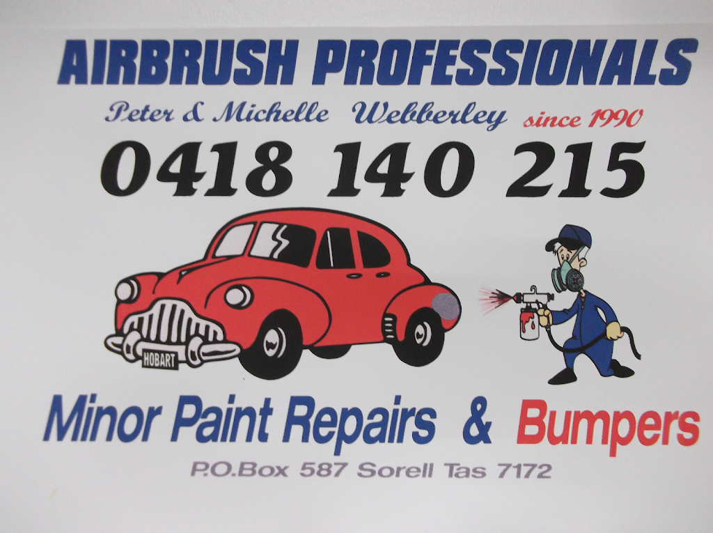 Airbrush Professionals | car repair | 86 Patrick St, Hobart TAS 7000, Australia | 0418140215 OR +61 418 140 215