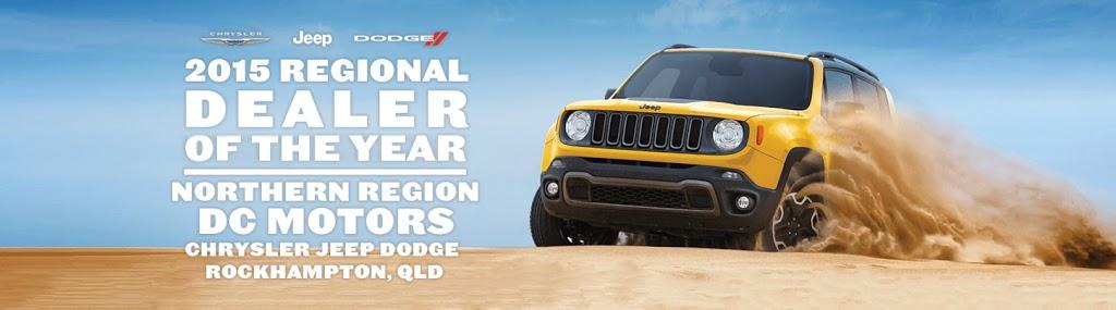 DC Motors Jeep | car dealer | 56 Derby St, Rockhampton QLD 4700, Australia | 0749991200 OR +61 7 4999 1200