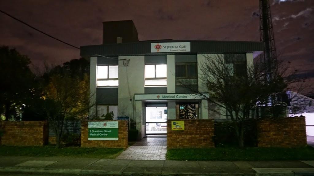 St John of God Medical Centre - Dr Ben Nebenzahl   doctor   3 Grantham St, Burwood NSW 2134, Australia   0293343888 OR +61 2 9334 3888