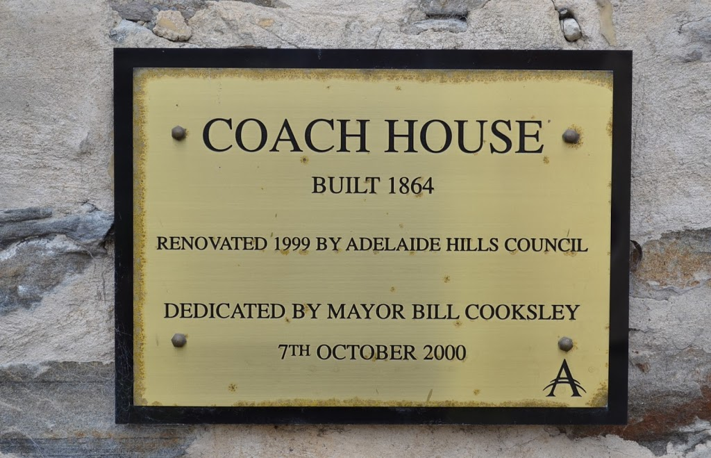 The Coach House - Mt Torrens Local History Museum | museum | 19 Townsend St, Mount Torrens SA 5244, Australia