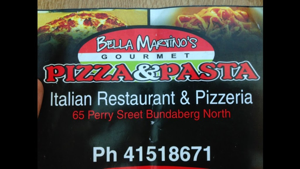 Bella Martinos Italian Restaurant & Pizzeria | restaurant | 65 Perry St, Bundaberg North QLD 4670, Australia | 0741518671 OR +61 7 4151 8671