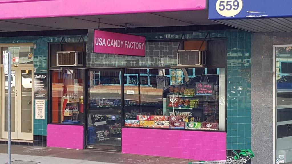 USA Candy Factory | store | 561 Kingsway, Miranda NSW 2228, Australia | 0295383278 OR +61 2 9538 3278