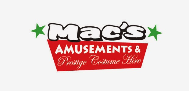 Macs Amusements & Prestige Costume Hire | clothing store | 41 Harold St, West End QLD 4810, Australia | 0747215566 OR +61 7 4721 5566