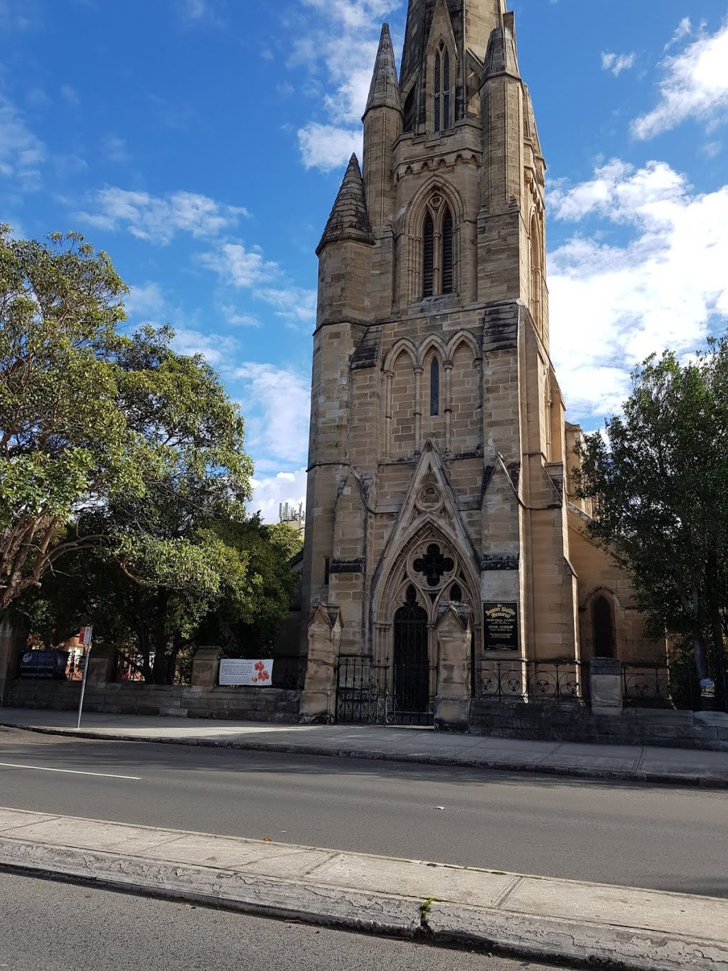 Hunter Baillie Memorial Presbyterian Church | church | Johnston St & Collins St, Annandale NSW 2038, Australia | 0298107869 OR +61 2 9810 7869