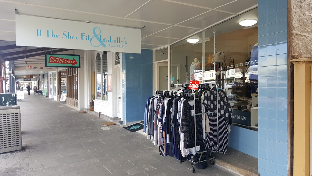 If The Shoe Fits & Isabellas | clothing store | 31 Sackville St, Port Fairy VIC 3284, Australia | 0355683277 OR +61 3 5568 3277