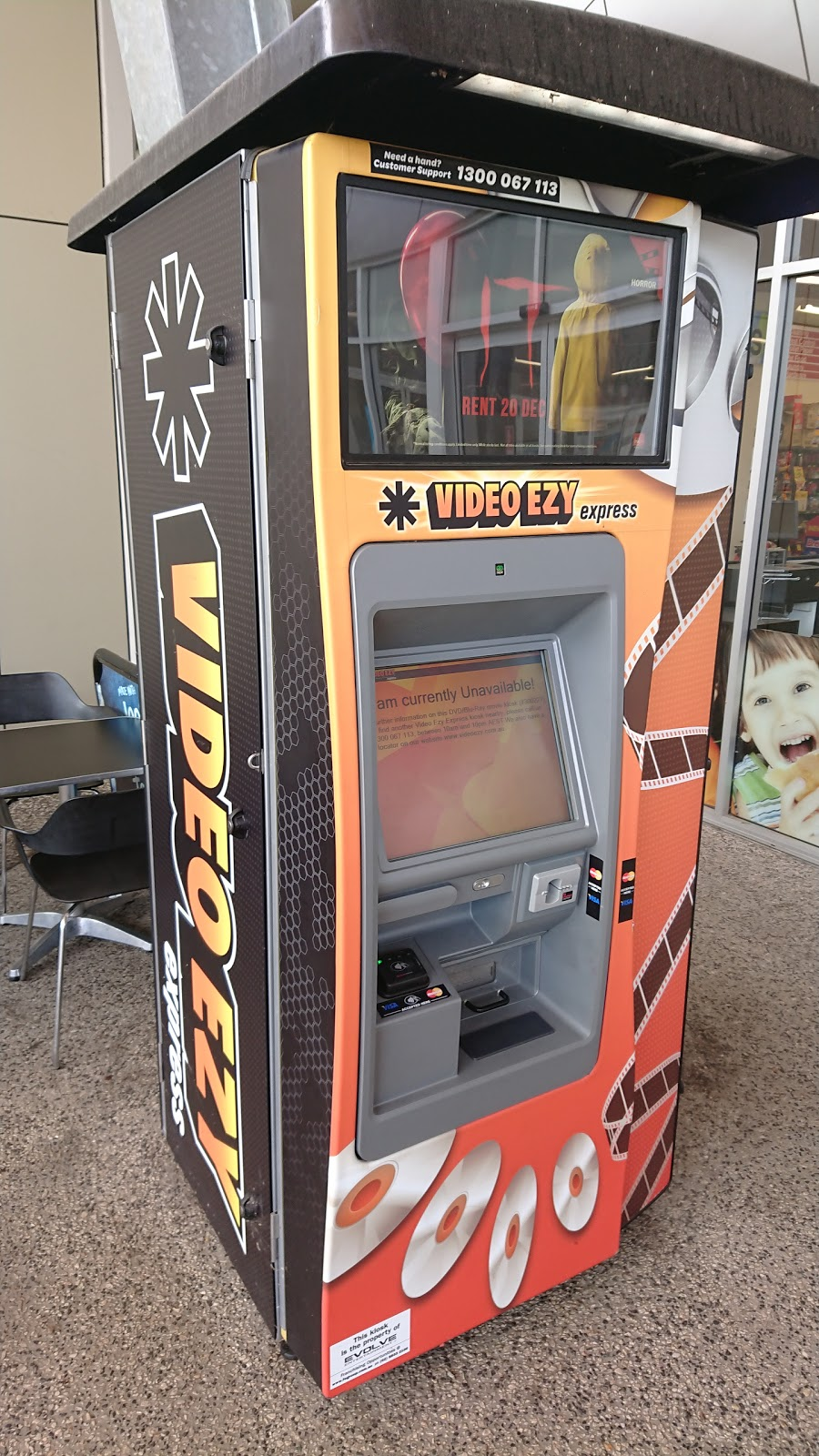 Video Ezy Rental Kiosk - Movie rental | 1 Warra Ln, Cashmere