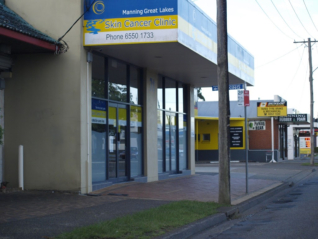 Manning Great Lakes Skin Cancer Clinic   doctor   71 Victoria St, Taree NSW 2430, Australia   0265501733 OR +61 2 6550 1733