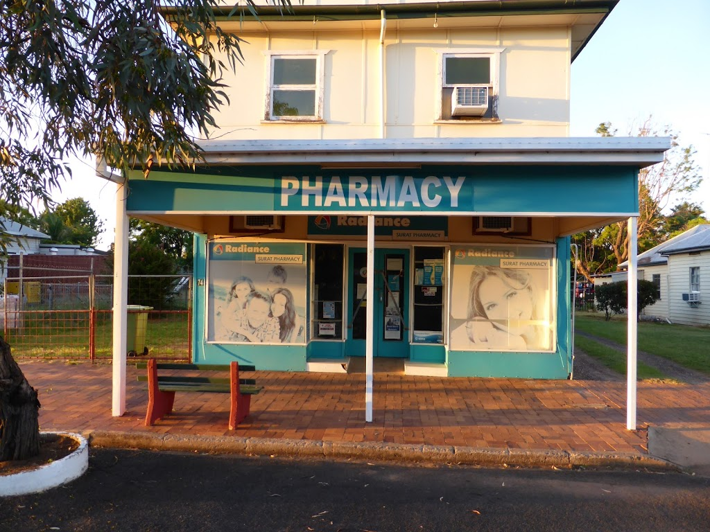 Radiance Pharmacy | pharmacy | 76 Burrowes St, Surat QLD 4417, Australia | 0746265444 OR +61 7 4626 5444
