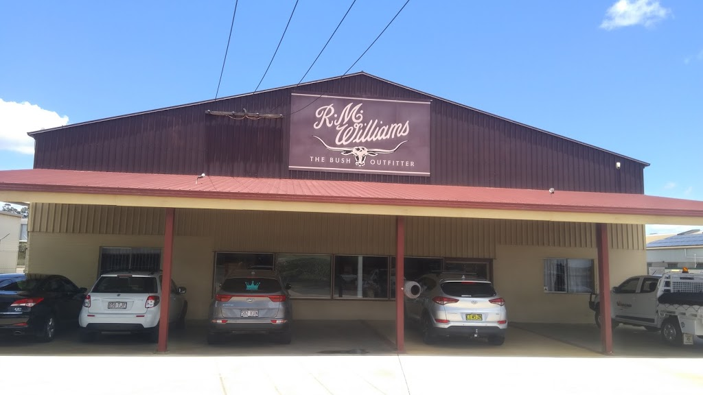 R.M.Williams   shoe store   8 Carrington Rd, Toowoomba QLD 4350, Australia   0746344336 OR +61 7 4634 4336