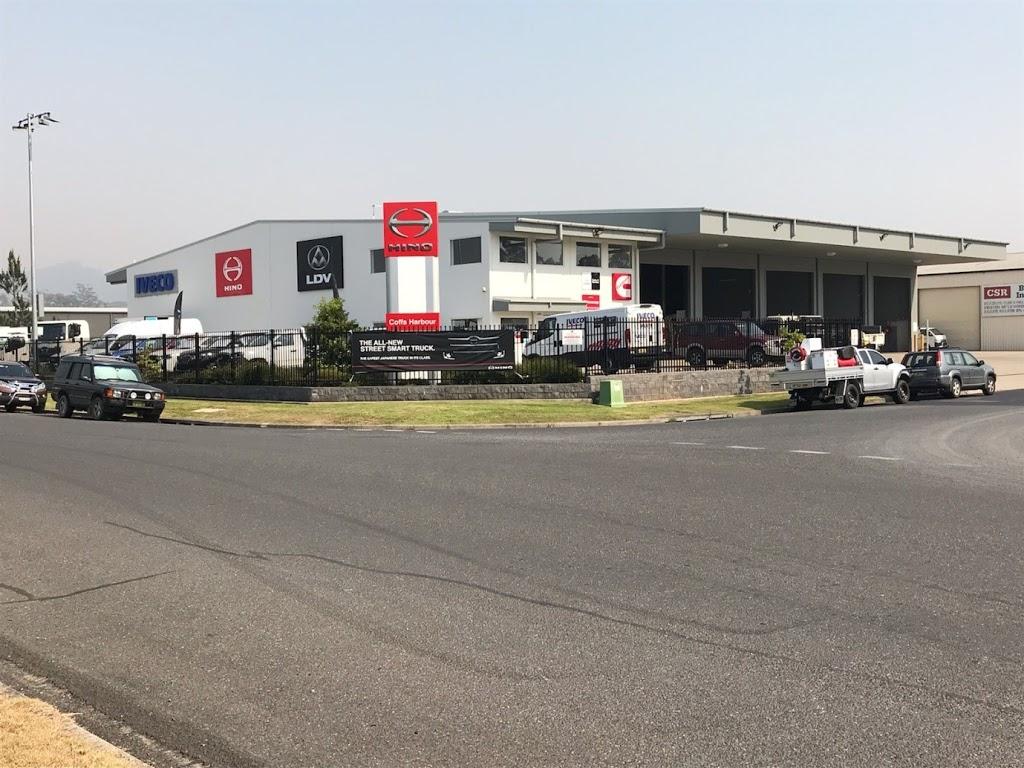 Coffs Harbour Hino | store | 3 Elswick Pl, Coffs Harbour NSW 2450, Australia | 0284161300 OR +61 2 8416 1300