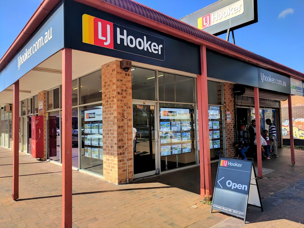 LJ Hooker Rooty Hill   real estate agency   34 Rooty Hill Rd N, Rooty Hill NSW 2766, Australia   0296253777 OR +61 2 9625 3777