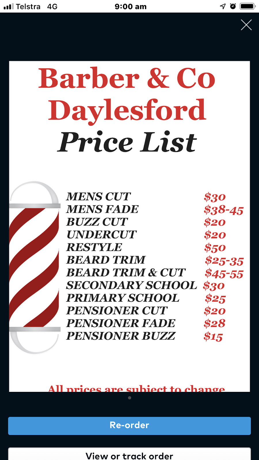 Barber & Co Daylesford   hair care   30 Albert St, Daylesford VIC 3460, Australia   0448722814 OR +61 448 722 814