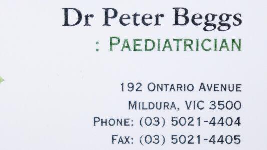 Dr Peter Beggs   hospital   192 Ontario Ave, Mildura VIC 3500, Australia   0350214404 OR +61 3 5021 4404