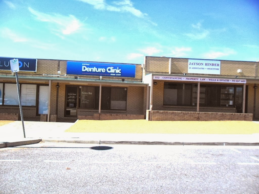 Kippax Denture Clinic | dentist | Unit 6 Scott Chambers, 12-16 Hardwick Crescent, (adjacent Kippax Place), Holt ACT 2615, Australia | 0262541777 OR +61 2 6254 1777