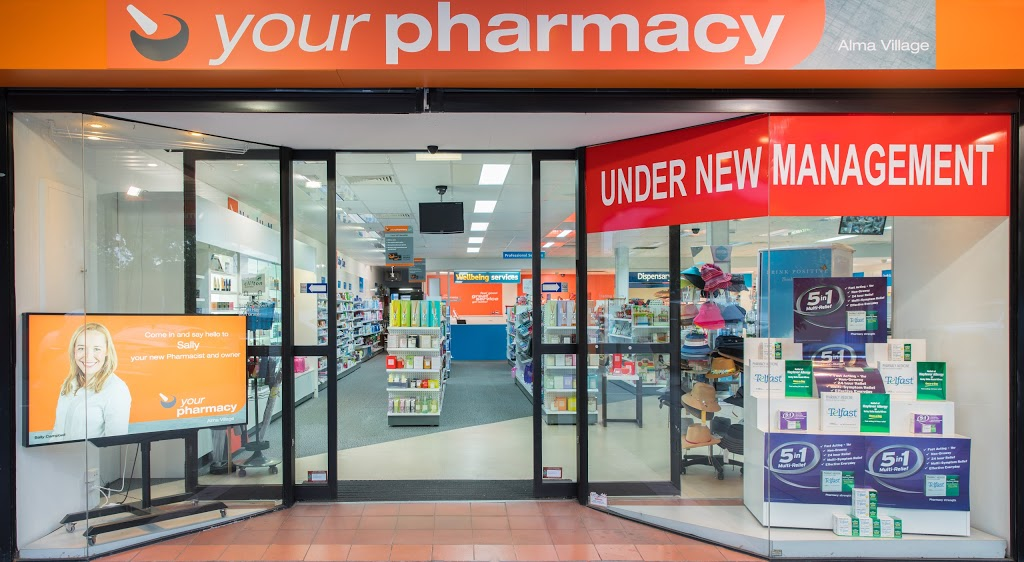 Your Pharmacy Alma Village | health | 354 Orrong Rd, Caulfield North VIC 3161, Australia | 0395258459 OR +61 3 9525 8459