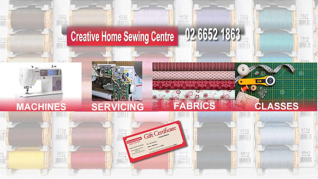 Creative Home Sewing Centre | home goods store | 168 Beryl St, Coffs Harbour NSW 2450, Australia | 0266521863 OR +61 2 6652 1863