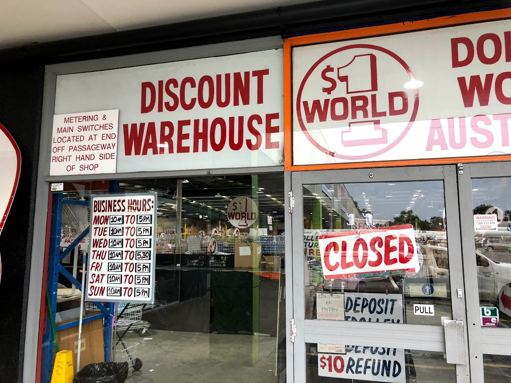 Dollar World Warwick Farm | store | 1/11 Sappho Rd, Warwick Farm NSW 2170, Australia
