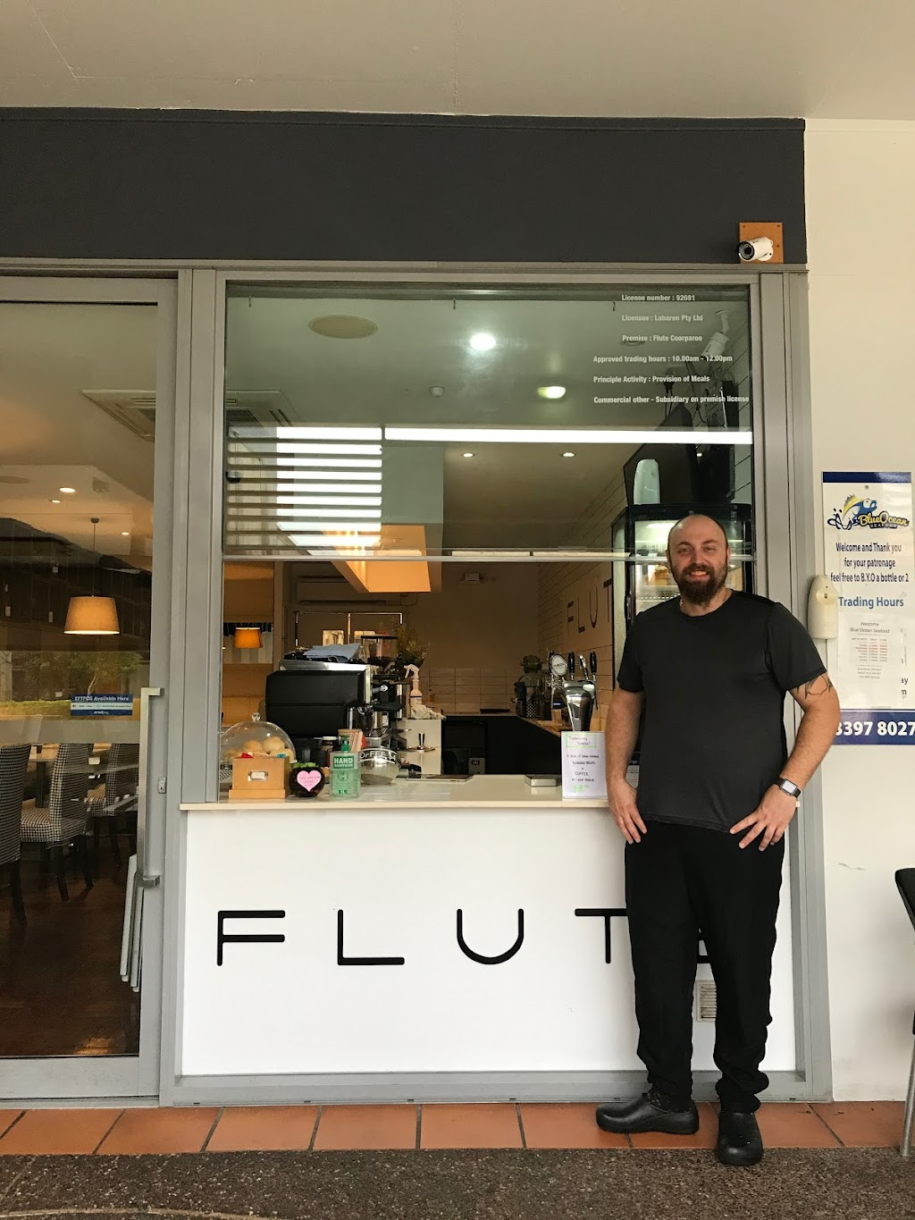 Flute Cafe   meal takeaway   Shop 4/380 Cavendish Rd, Coorparoo QLD 4151, Australia   0431938003 OR +61 431 938 003