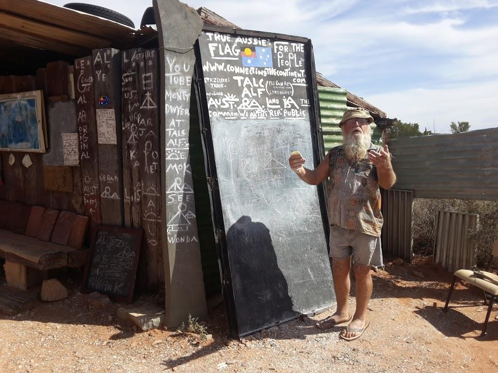 Talc Alf Art Works | tourist attraction | 4 Talc Town Road, Lyndhurst SA 5731, Australia | 0458444685 OR +61 458 444 685