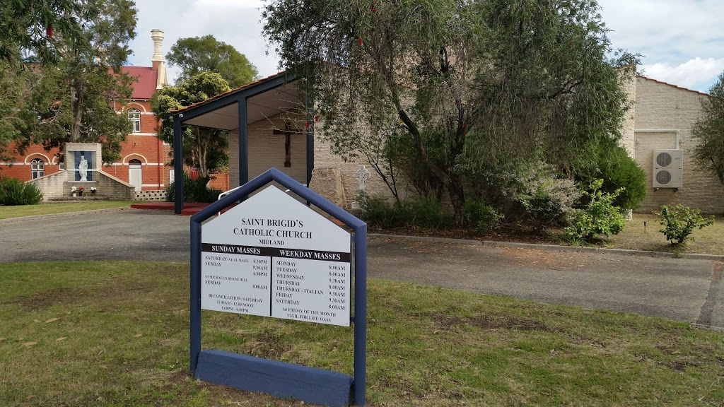 Saint Brigids Church   church   69B Morrison Rd, Midland WA 6056, Australia   0892741495 OR +61 8 9274 1495