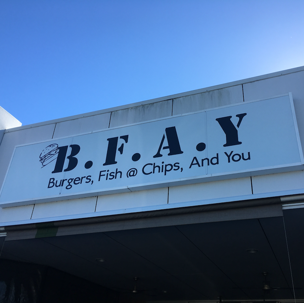 Burgers, Fish, Chips, and You | meal takeaway | 14 Eastside Village, 696 New Cleveland Rd, Gumdale QLD 4154, Australia | 0412960699 OR +61 412 960 699