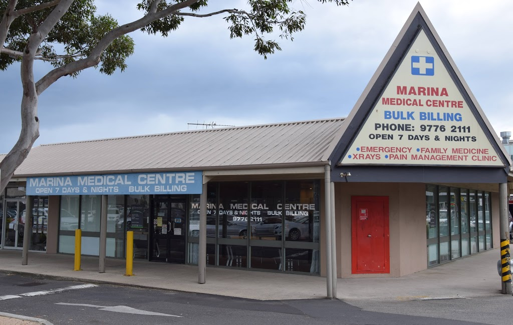 Marina Medical Centre   doctor   Thompson Rd, Patterson Lakes VIC 3197, Australia   0397762111 OR +61 3 9776 2111