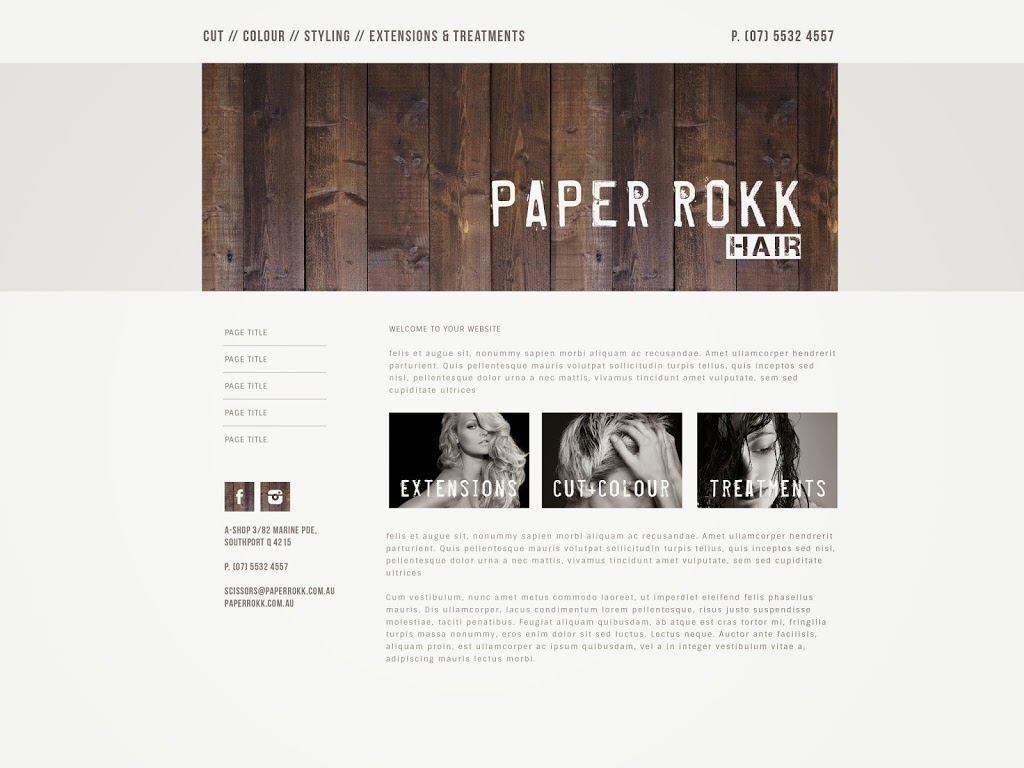 Paper Rokk Southport | hair care | 3/82 Marine Parade, Southport QLD 4215, Australia | 0455155157 OR +61 455 155 157
