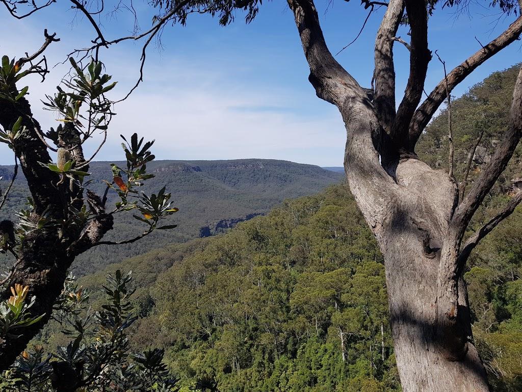 Fairy Bower Falls | tourist attraction | Fairy Bower Walking Track, Bundanoon NSW 2578, Australia | 0248877270 OR +61 2 4887 7270
