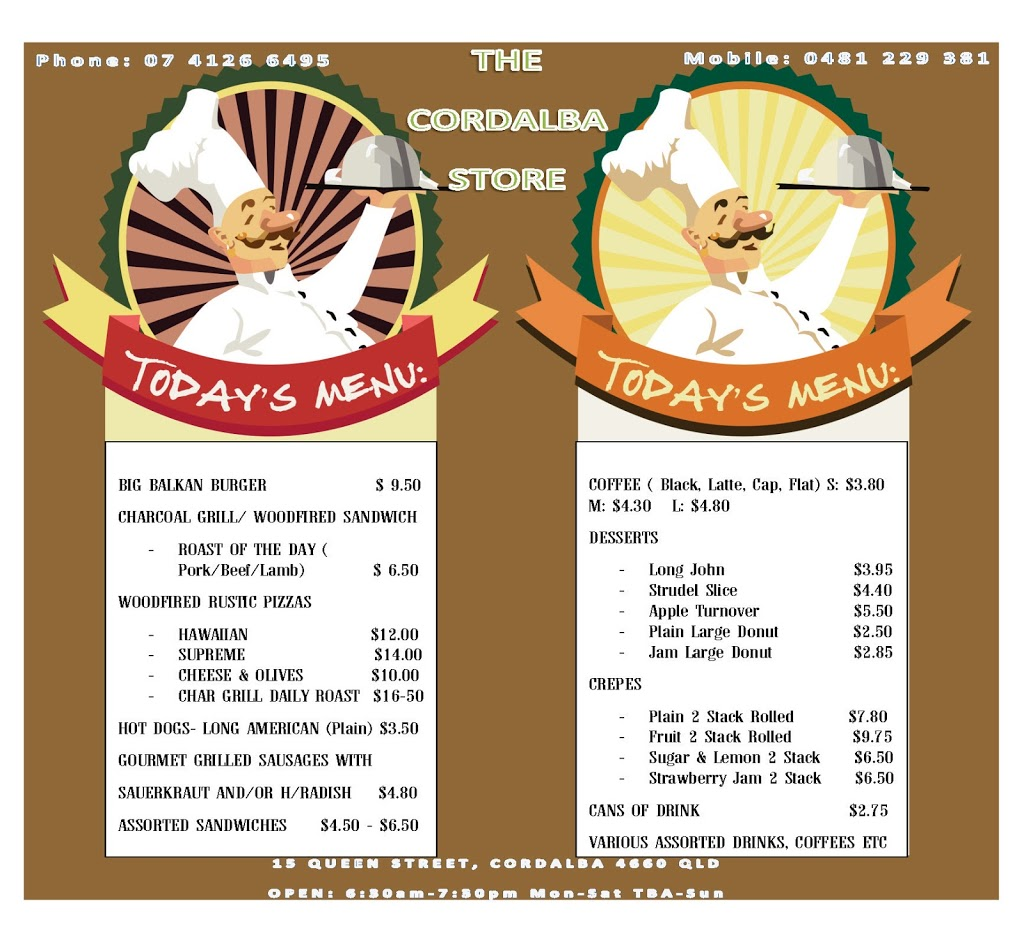 The Cordalba Store | book store | 15 Queen St, Cordalba QLD 4660, Australia | 0741266495 OR +61 7 4126 6495