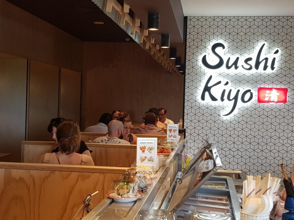 Sushi Kiyo train Townsville City   restaurant   Australia Queensland Shop #6 next to BCC Cinema entry, 10 Little Fletcher St, Townsville City QLD 4810, Australia   0422585155 OR +61 422 585 155