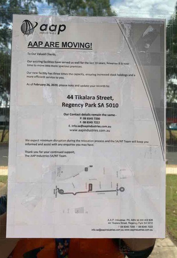 AAP Industries | point of interest | 44 Tikalara St, Regency Park SA 5010, Australia | 0883457200 OR +61 8 8345 7200