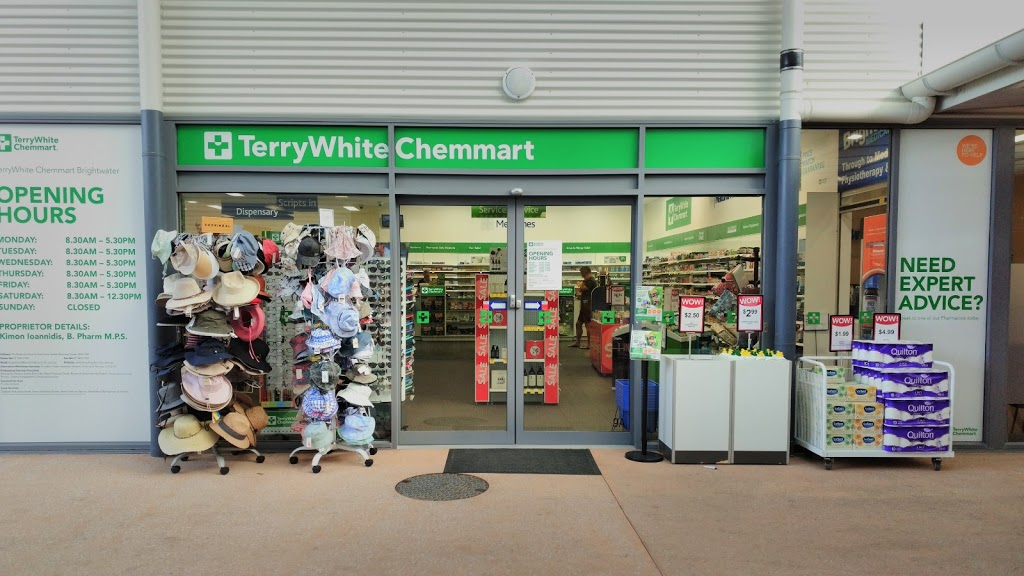 TerryWhite Chemmart Brightwater | pharmacy | Shop 9A, Brightwater Shopping Centre Corner of Attenuata Drive and, Freshwater St, Mountain Creek QLD 4557, Australia | 0754377740 OR +61 7 5437 7740