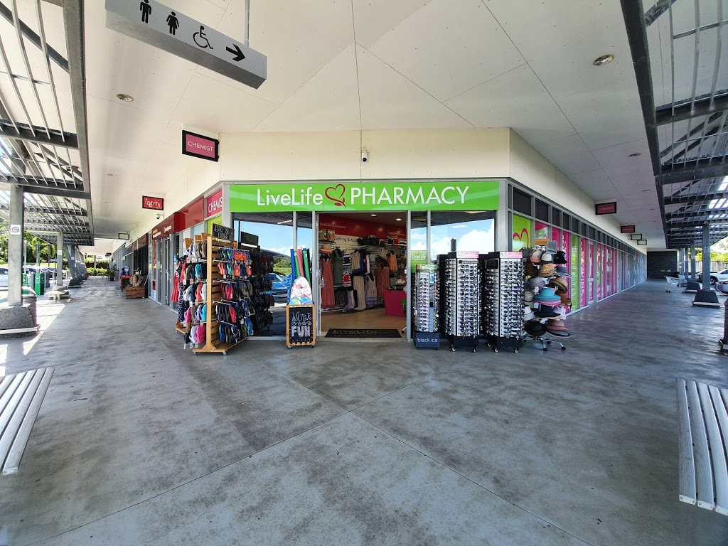 LiveLife Pharmacy Mission Beach | pharmacy | Shop 6- 8 Mission Beach Market Place, 34-40 Dickinson St, Mission Beach QLD 4852, Australia | 0740688588 OR +61 7 4068 8588
