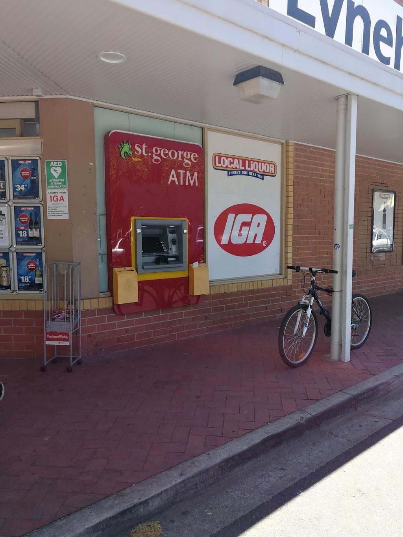 St.George ATM | atm | 1 Wattle Pl, Lyneham ACT 2602, Australia | 133330 OR +61 133330