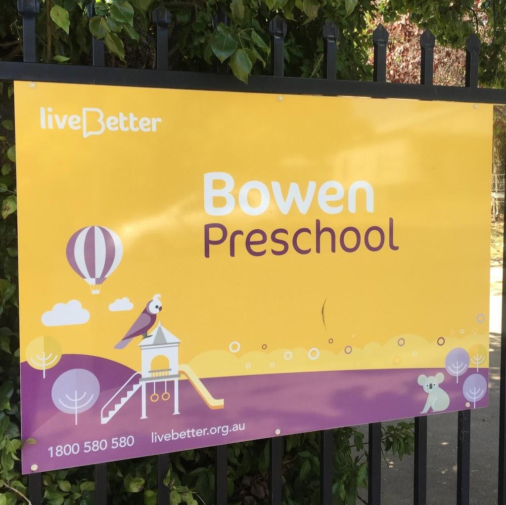 LiveBetter Bowen Preschool | school | 50-60 Park St, Orange NSW 2800, Australia | 1800580580 OR +61 1800 580 580