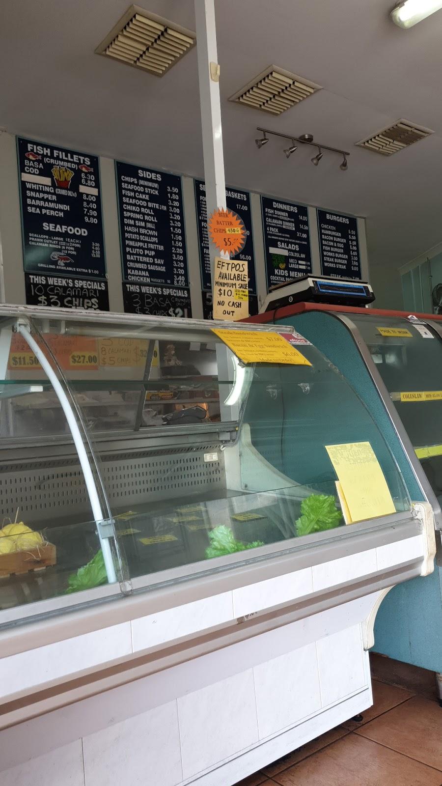 Riverhills Seafood | restaurant | 1/200 Sumners Rd, Riverhills QLD 4074, Australia | 0737156144 OR +61 7 3715 6144