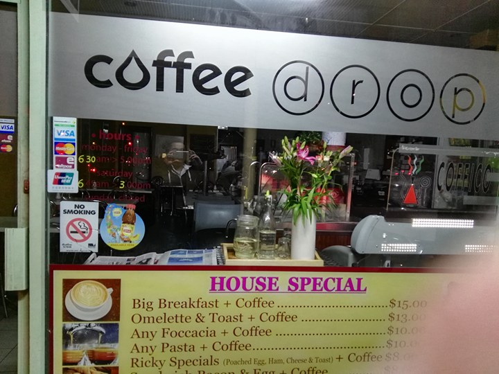 Coffee Drop | cafe | 1/958 Doncaster Rd, Doncaster East VIC 3109, Australia | 0398414245 OR +61 3 9841 4245