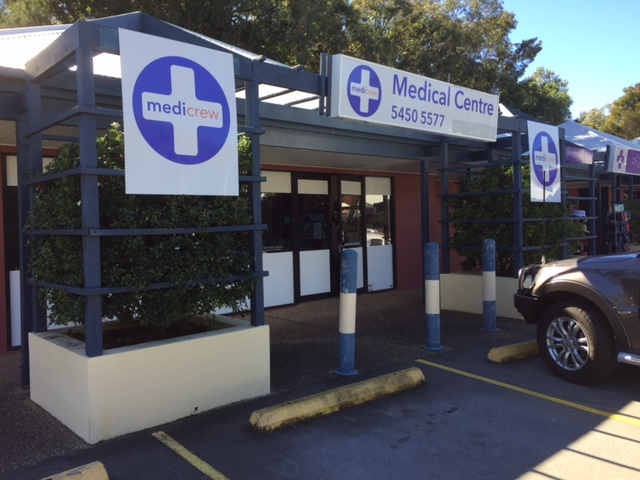 Medicrew Medical Centres | physiotherapist | Shop 7/175 Ocean Dr, Twin Waters QLD 4564, Australia | 0754505577 OR +61 7 5450 5577
