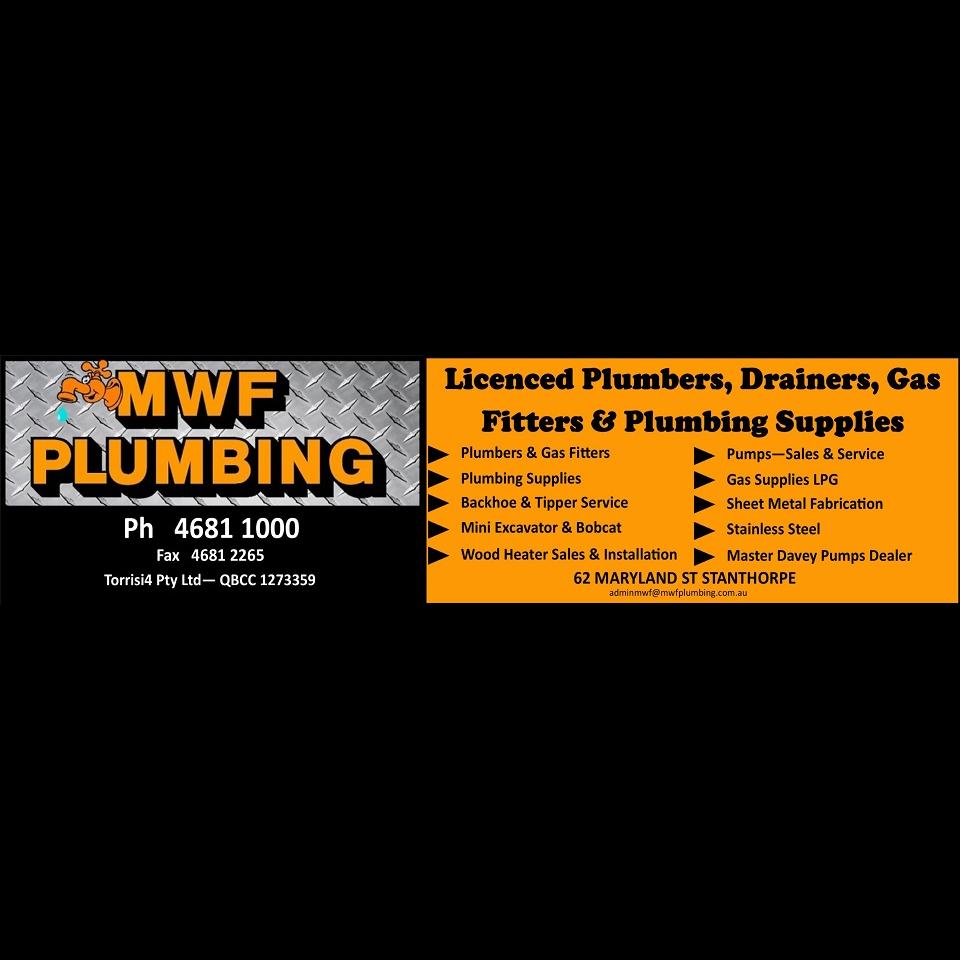 M.W.F. Plumbing | plumber | 62 Maryland St, Stanthorpe QLD 4380, Australia | 0746811000 OR +61 7 4681 1000